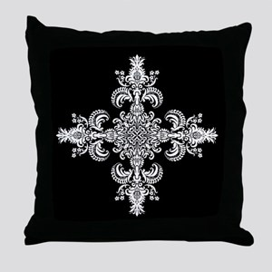 Fleur Meditation Throw Pillow