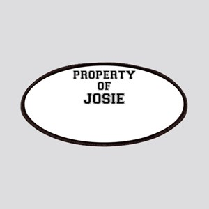 Property of JOSIE Patch