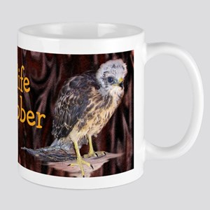 Wildlife Hawk Rehabber Mug