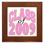 Class of 2009 ver2 Framed Tile