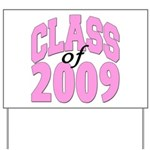 Class of 2009 ver2 Yard Sign