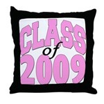 Class of 2009 ver2  Throw Pillow