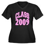 Class of 2009 ver2 Women's Plus Size V-Neck Dark