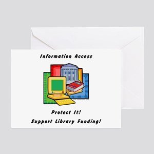 Information Access Greeting Cards (Pk of 10)