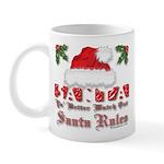 Santa Claus Rules Mug