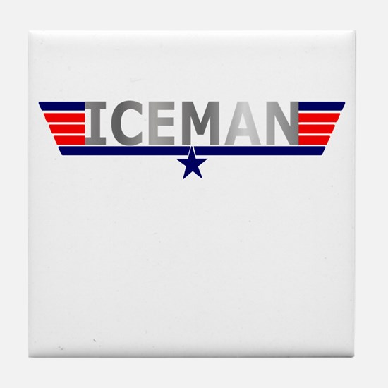 ICEMAN Tile Coaster