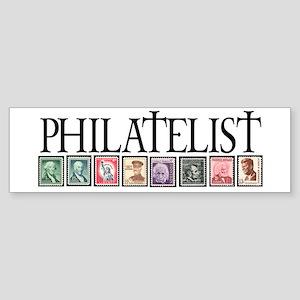 PHILATELIST Bumper Sticker