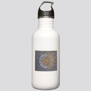 Sun and Moon Stainless Water Bottle 1.0L
