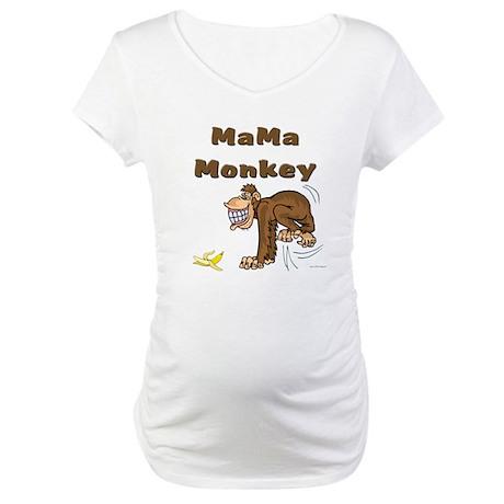 MaMa Monkey Maternity T-Shirt