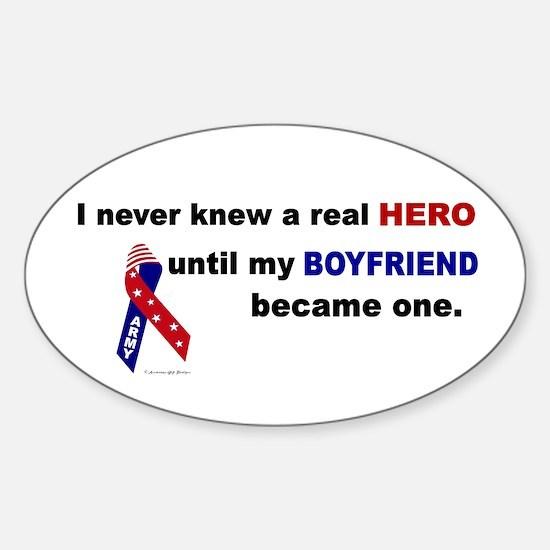 Never Knew A Hero.....Boyfriend (ARMY) Decal
