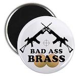 Bad Ass Brass Balls Magnet