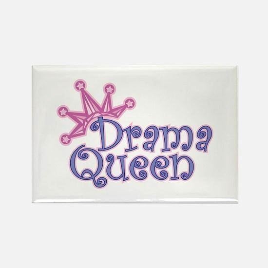Drama Queen Rectangle Magnet