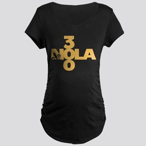New Orleans 300 Years Tricentennial Maternity T-Sh
