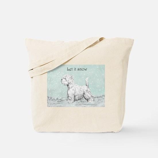 Westhighland Westie Winter Tote Bag