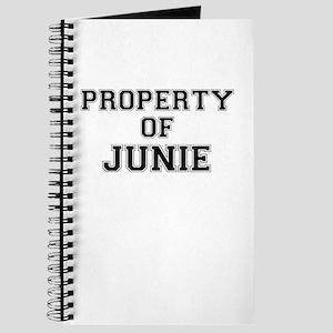 Property of JUNIE Journal