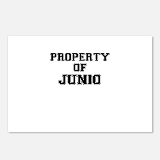 Property of JUNIO Postcards (Package of 8)