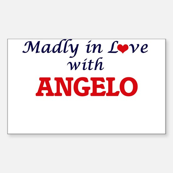 Madly in love with Angelo Decal