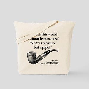 Pipe Smoker IX Tote Bag