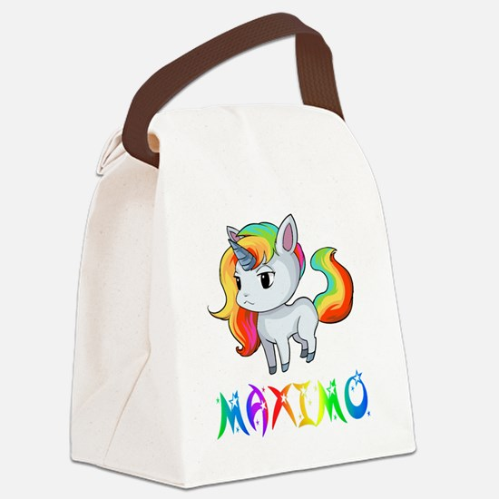 Cute Maximo Canvas Lunch Bag