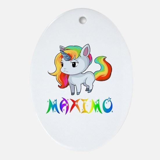 Cute Maximo Oval Ornament
