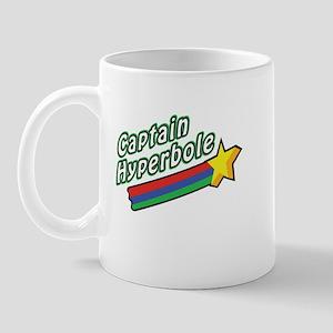 Captain Hyperbole Design Mug