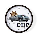 California Highway Patrol Wall Clock