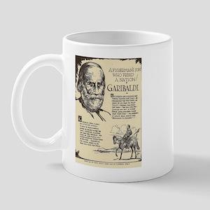 Garibaldi Mini Biography Mugs