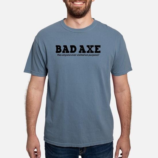 Bad Axe Visit White T-Shirt