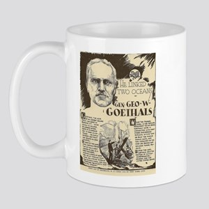 George W Goethals Mini Biography Mugs