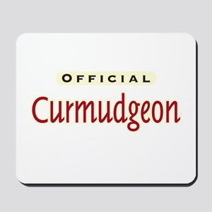 Official Curmudgeon -  Mousepad