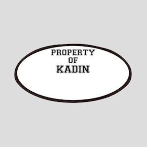 Property of KADIN Patch