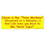 IslamTimeMachine Bumper Sticker