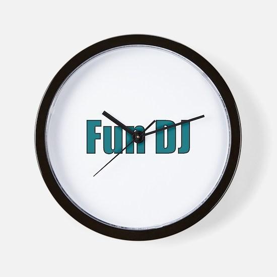 Fun DJ Wall Clock