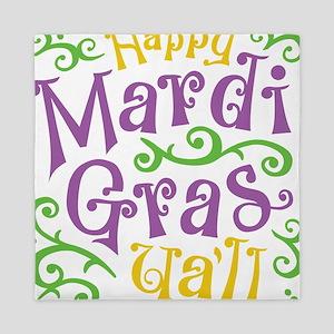 Happy Mardi Gras Queen Duvet