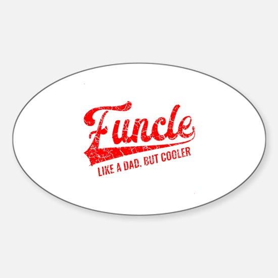 Funny Cool great aunt Sticker (Oval)