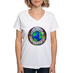 Autism Worldwide Women's V-Neck T-Shirt