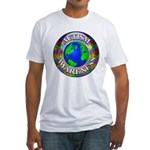 Autism Worldwide Fitted T-Shirt