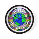 Autism Worldwide Wall Clock