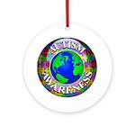 Autism Worldwide Ornament (Round)