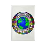 Autism Worldwide Rectangle Magnet (10 pack)