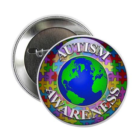 """Autism Worldwide 2.25"""" Button"""