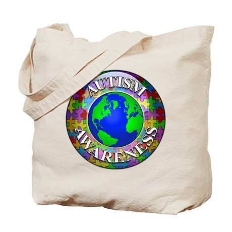 Autism Worldwide Tote Bag