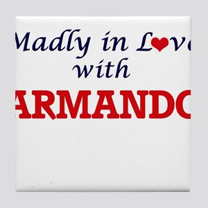 Madly in love with Armando Tile Coaster