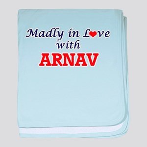 Madly in love with Arnav baby blanket