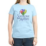 Someone with Autism Women's Light T-Shirt
