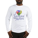 Someone with Autism Long Sleeve T-Shirt