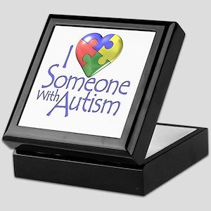 Someone with Autism Keepsake Box