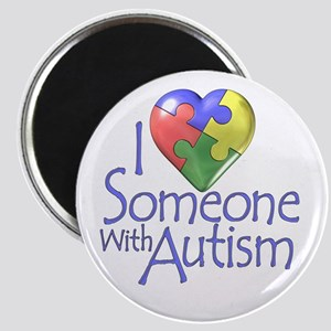 Someone with Autism Magnet