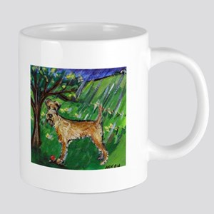 Irish Terrier spring whimsica Mugs
