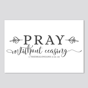 Pray without Ceasing Postcards (Package of 8)